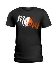 Baseball Mom Basketball Mom shirt Ladies T-Shirt thumbnail