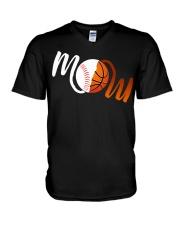 Baseball Mom Basketball Mom shirt V-Neck T-Shirt thumbnail
