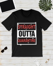 Straight Outta Quarantine shirt Classic T-Shirt lifestyle-mens-crewneck-front-17