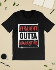 Straight Outta Quarantine shirt Classic T-Shirt lifestyle-mens-crewneck-front-19