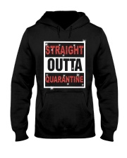 Straight Outta Quarantine shirt Hooded Sweatshirt thumbnail
