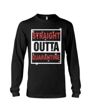 Straight Outta Quarantine shirt Long Sleeve Tee thumbnail