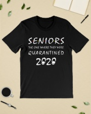 Seniors The one where they were Quarantined 2020 Classic T-Shirt lifestyle-mens-crewneck-front-19