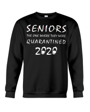Seniors The one where they were Quarantined 2020 Crewneck Sweatshirt thumbnail