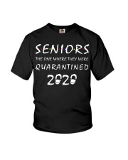 Seniors The one where they were Quarantined 2020 Youth T-Shirt thumbnail