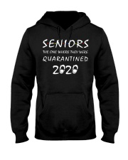 Seniors The one where they were Quarantined 2020 Hooded Sweatshirt thumbnail