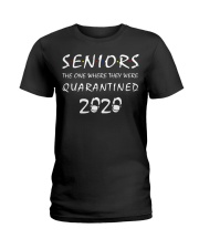 Seniors The one where they were Quarantined 2020 Ladies T-Shirt thumbnail