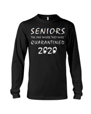 Seniors The one where they were Quarantined 2020 Long Sleeve Tee thumbnail