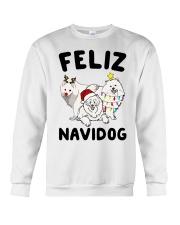 Feliz Navidog Samoyed Christmas Crewneck Sweatshirt front