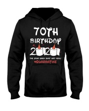 70th birthday 2020 the year when shit got real Hooded Sweatshirt thumbnail