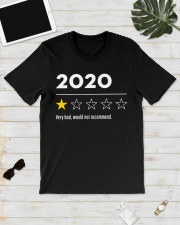 2020 very bad would not recommend shirt Classic T-Shirt lifestyle-mens-crewneck-front-17