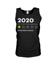 2020 very bad would not recommend shirt Unisex Tank thumbnail