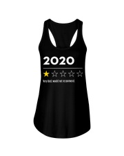 2020 very bad would not recommend shirt Ladies Flowy Tank thumbnail