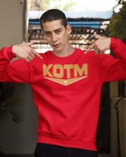 George Kittle KOTM 85 Shirt Crewneck Sweatshirt apparel-crewneck-sweatshirt-lifestyle-04
