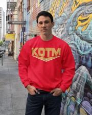 George Kittle KOTM 85 Shirt Crewneck Sweatshirt lifestyle-unisex-sweatshirt-front-2