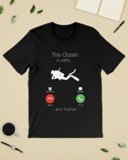 The Ocean is calling and I must go shirt Classic T-Shirt lifestyle-mens-crewneck-front-19