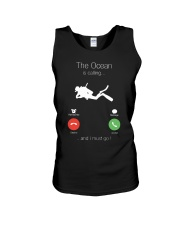 The Ocean is calling and I must go shirt Unisex Tank thumbnail