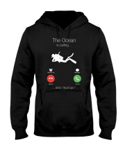 The Ocean is calling and I must go shirt Hooded Sweatshirt thumbnail