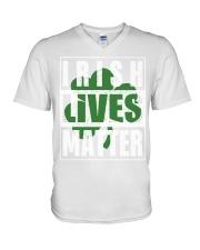 Irish Lives Matter shirt V-Neck T-Shirt thumbnail