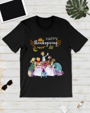 Winnie The Pooh Happy Thanksgiving shirt Classic T-Shirt lifestyle-mens-crewneck-front-17
