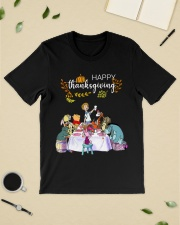 Winnie The Pooh Happy Thanksgiving shirt Classic T-Shirt lifestyle-mens-crewneck-front-19