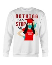 Nothing can stop me class of 2020 red shirt Crewneck Sweatshirt thumbnail