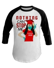 Nothing can stop me class of 2020 red shirt Baseball Tee thumbnail
