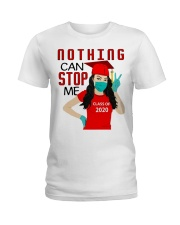 Nothing can stop me class of 2020 red shirt Ladies T-Shirt thumbnail