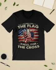 Jesus Flag American Stand for the Flag Kneel  Classic T-Shirt lifestyle-mens-crewneck-front-19