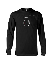 Everyone is a Photographer Until Manual Mode  Long Sleeve Tee thumbnail