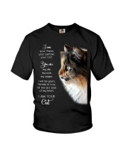 I am your friend your partner your cat I am your  Youth T-Shirt thumbnail