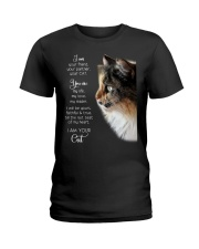 I am your friend your partner your cat I am your  Ladies T-Shirt thumbnail
