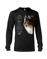 I am your friend your partner your cat I am your  Long Sleeve Tee thumbnail