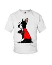 Boston Terrier I love Mom shirt Youth T-Shirt thumbnail