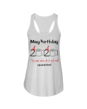 May Birthday 2020 the year when shit got real  Ladies Flowy Tank thumbnail
