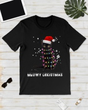 Meowy Christmas Black cat shirt Classic T-Shirt lifestyle-mens-crewneck-front-17