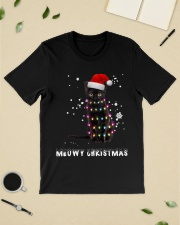 Meowy Christmas Black cat shirt Classic T-Shirt lifestyle-mens-crewneck-front-19