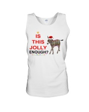 Is this Jolly enough donkey Christmas shirt Unisex Tank thumbnail