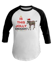 Is this Jolly enough donkey Christmas shirt Baseball Tee thumbnail