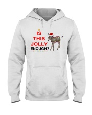 Is this Jolly enough donkey Christmas shirt Hooded Sweatshirt thumbnail