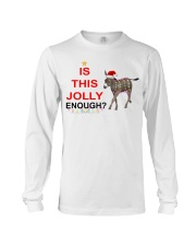 Is this Jolly enough donkey Christmas shirt Long Sleeve Tee thumbnail