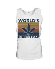 World's Dopest Dad Weed Vintage shirt Unisex Tank thumbnail