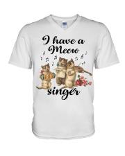 I have a meow singer shirt V-Neck T-Shirt thumbnail