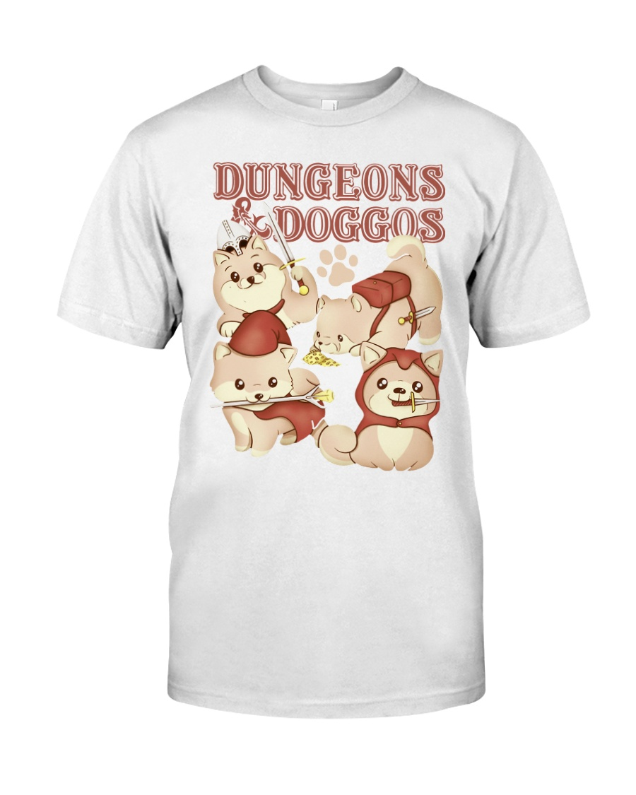 Dungeons and Doggos shirt Classic T-Shirt