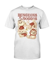 Dungeons and Doggos shirt Classic T-Shirt front