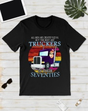 All men are created equal but the best seventies  Classic T-Shirt lifestyle-mens-crewneck-front-17