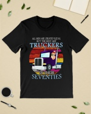 All men are created equal but the best seventies  Classic T-Shirt lifestyle-mens-crewneck-front-19