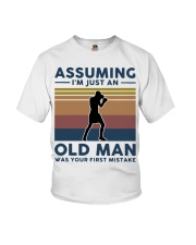Boxing Assuming Im Just An Old Man Was Your  Youth T-Shirt thumbnail