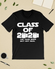 Senior Class of 2020 Toilet Paper The year when  Classic T-Shirt lifestyle-mens-crewneck-front-19