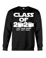 Senior Class of 2020 Toilet Paper The year when  Crewneck Sweatshirt thumbnail